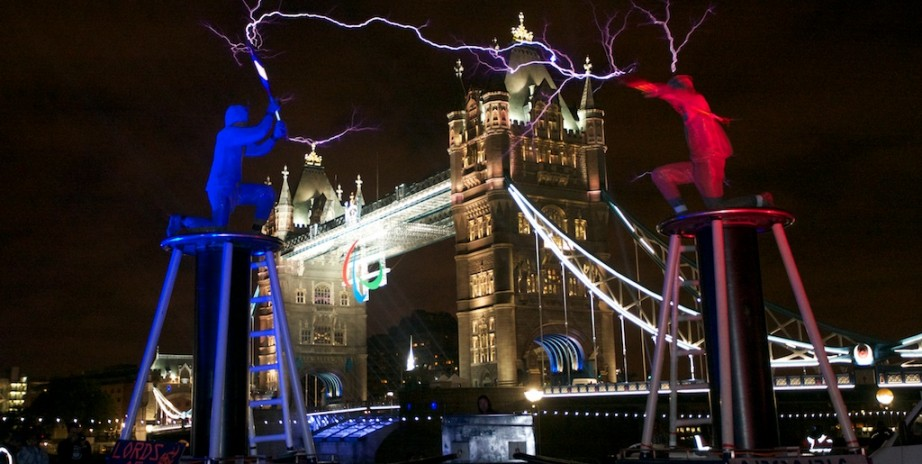 Arcadia's Lords of Lightening at Potters Field.