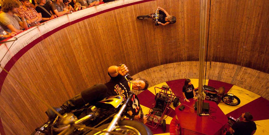 Ken Fox's Wall of Death at The Common